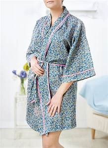 No-pattern Dressing Gown - Free Sewing Patterns