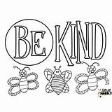 Coloring Printable Bee Facts Honey Kind Tags Might Too sketch template