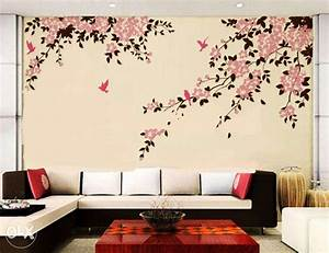 wall painting designs for bedrooms painting ideas for With interior decoration for wall painting