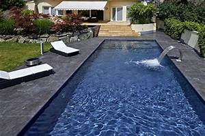 stunning liner noir piscine ideas design trends 2017 With piscine liner gris anthracite 13 diaporama photos de piscines dexception avec liner