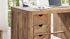 Schreibtisch Holz Massiv Schreibtisch Holz Massiv M Bel