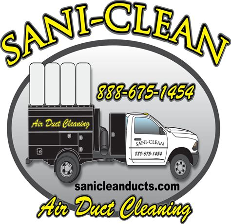 sani clean air duct cleaning    reviews