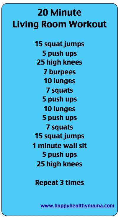 Living Room Exercises by Easy Living Room Workout