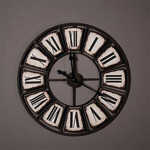 Horloge Murale Industrielle : horloge murale industrielle deco 39 clock ~ Teatrodelosmanantiales.com Idées de Décoration