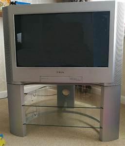 Sony Trinitron 28 U0026quot  Tv And Stand