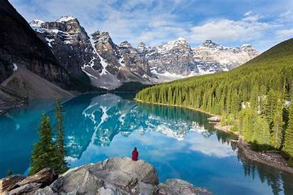 Water Lake Travel Canada Wonder Geo Scenes