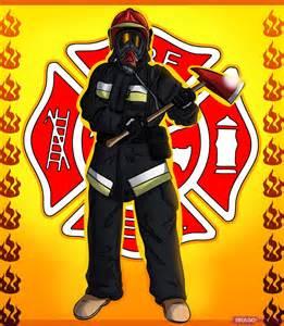 Cartoon Firefighter Drawings