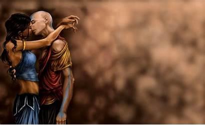 Airbender Avatar Last Aang Katara Wallpapers Background