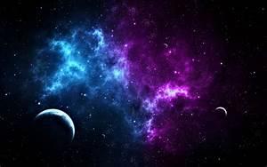Wallpaper Galaxy Nebula Pink Blue (page 2) - Pics about space