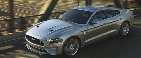 2018 Ford Mustang Gt Sedan Rendered As The Four-door From