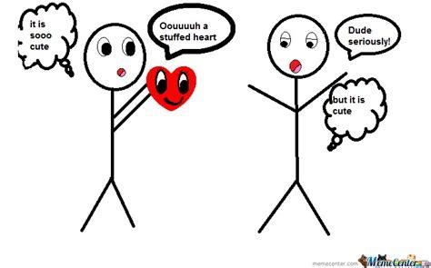 Meme Heart - stuffed heart by prettycoco51 meme center