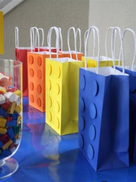 bold lego kids party ideas  rock shelterness