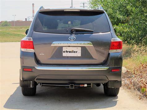 Toyota Highlander Hitch by 2012 Toyota Highlander Curt Trailer Hitch Receiver