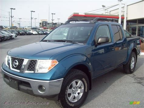 2005 Nissan Frontier Nismo Crew Cab 4x4 In Electric Blue