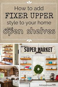 How to add quotfixer upperquot style to your home open for What kind of paint to use on kitchen cabinets for iron on stickers for t shirts