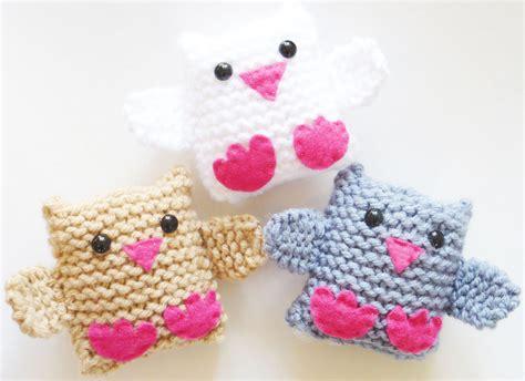 jingle birds knitting kit