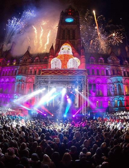 manchester albert square light switch on feat