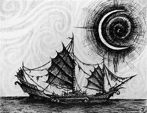 Top Ghost Pirate Ship Drawing Images for Pinterest Tattoos