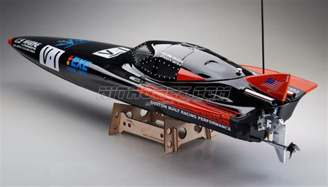 Rc Boat Steerable Outdrive by New Exceed Vyper Electric Powered Fiberglass 920ep Racing