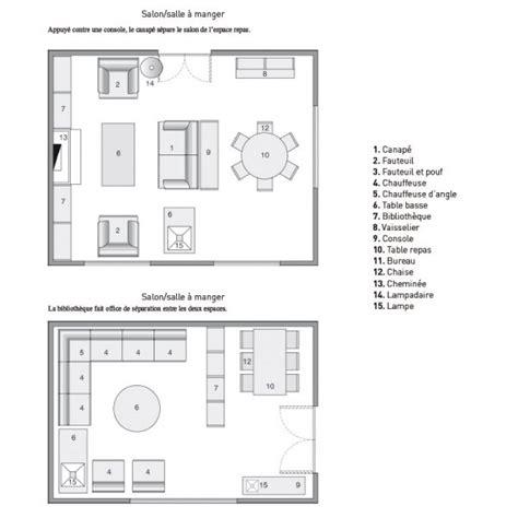 plan salon salle a manger am 233 nager et d 233 corer le salon maison