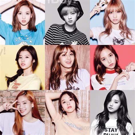 Twice Nayeon Jeongyeon Momo Sana Jihyo Mina Dahyun