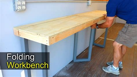 workbench wall mounted folding workbench  exciting