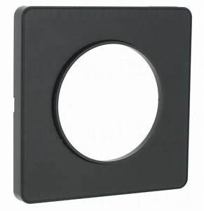 Plaque Schneider Odace : plaque schneider electric odace touch 1 poste anthracite ~ Dallasstarsshop.com Idées de Décoration