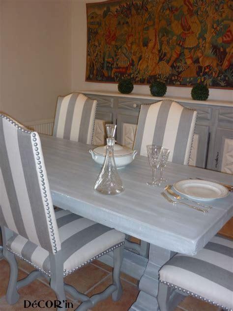 table de salle  manger relookee avant apres decorin
