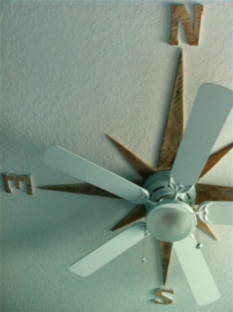 Diy Shabby Chic Ceiling Fan by Best 25 Nautical Bedroom Ideas On