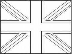 HD Wallpapers Coloring Page Union Jack Flag Awieiftcompress