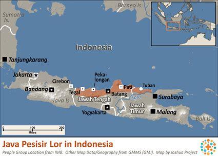 java pesisir lor  indonesia ethnic people profile
