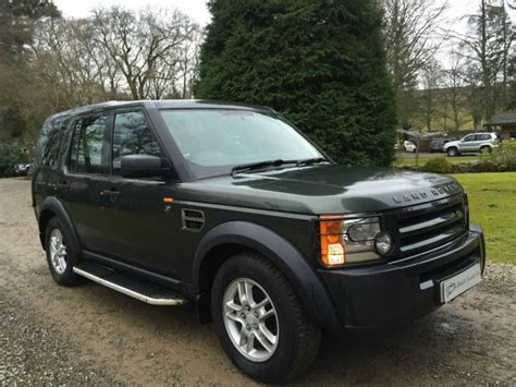 Land Rover Discovery 3 2.7td Tdv6 In Green Manual New