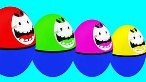 Learn Colors With Super Surprise Eggs Cartoon Video for ...