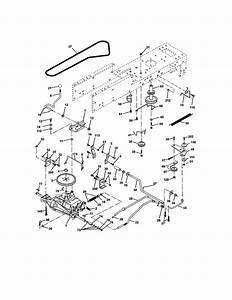 Craftsman T1400 Drive Belt Diagram