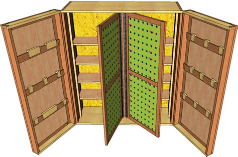 wall tool cabinet wall hung tool organizer 040 3d woodworking plans