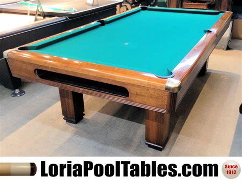 brunswick 8 pool table sold pre owned 8ft brunswick hawthorn pool table loria