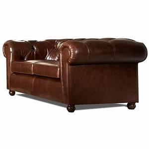 canape chesterfield cuir vieilli mister canape With canapé chesterfield 2 places cuir