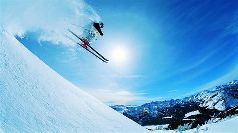 Skiing Background Skiing Desktop Wallpapers This Wallpaper