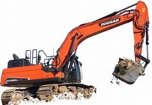 Doosan Dx300lc Crawler Excavator Factory Service  U0026 Shop