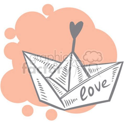 Love Boat Clipart by Royalty Free Love Boat Art 386647 Vector Clip Art Image