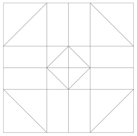 template pattern imaginesque quilt block 35 pattern and templates