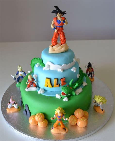 Z Cake Decorations by Buccias Cakes Torta Ii Cakepins Goku