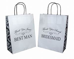 Bridesmaid best man usher father of bride personalised for Best man wedding gifts