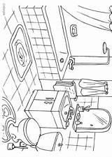 Coloring Bathroom Pages Badkamer Sheets Printable Drawing Colouring Kleurplaat Edupics Preschool Sheet Drawings Hygiene Bedroom Pe Paper Designlooter Dibujo Toilets sketch template