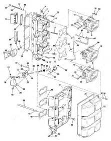 Evinrude 1984 150 - E150tlcrd  Intake Manifold