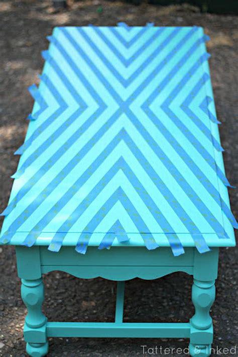 creative diy painted furniture ideas hative - Wood Kitchen Ideas