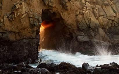 Cave Rock Nature Eyes Pc Desktop Megamind