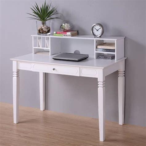 white computer desk hutch white wood computer desk with hutch contemporary desks