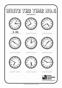 cool coloring pages write the time no6 cool coloring With repeating timer no6