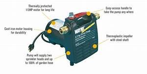 Wayne Cast Iron Portable Transfer Water Pump  U2014 1 450 Gph